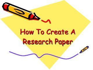 PowerPoint presentation about research paper